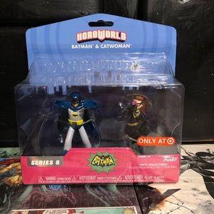 Hero World Batman And Cat Woman Target Exclusive.